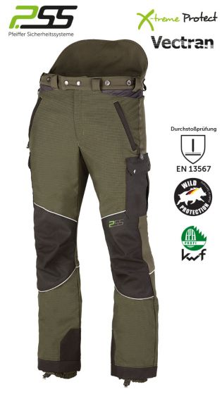 PSS X-Treme Rain  Sauenschutzhose grün