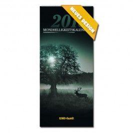WILD & HUND Mondheelligkeitskalender  2018