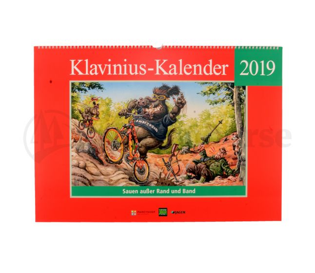 KLAVINIUS Jahreskalender 2019