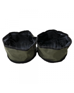2Wolfs  Hundenapf Polyester grün  2x2 Liter