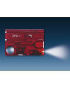 VICTORINOX SwissCard Lite rot transparent