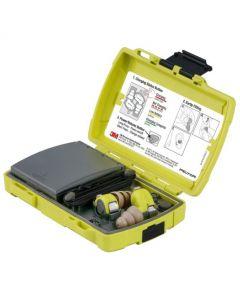 PELTOR Gehörschutzstöpsel EEP-100, elektronisch mit Ladegerät, ABS Box