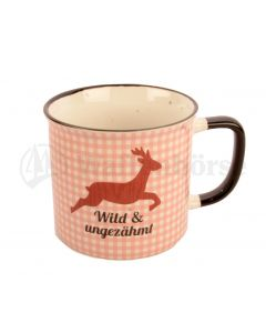 """AKAH Tee Becher  """"Wild und ungezähmt"""" 0,3l"""