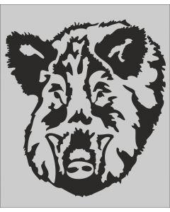 Rafco Autokleber Wildschwein schwarz-durchsichtig